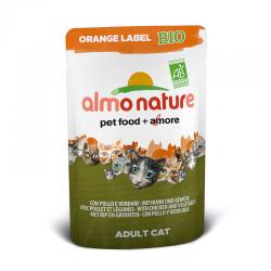 Almo Nature Orange Label Bio Pollo e Verdure 6 x 70 g