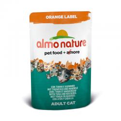 Almo Nature Orange Label Tonno e Sgombro 6 x 70 g