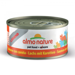 Almo Nature Tradition Legend Salmone e Carota 12 x 70 g