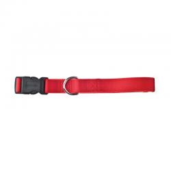 Collare Regolabile Nylon Rosso