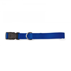 Fuss Dog Collare Regolabile Nylon Blu