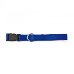 Collare Regolabile Nylon Blu