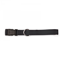 Fuss Dog Collare Regolabile Nylon Nero