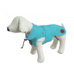Dog Line Impermeabile London Classic Azzurro