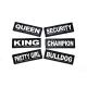 Julius K-9 Coppia Etichette Queen