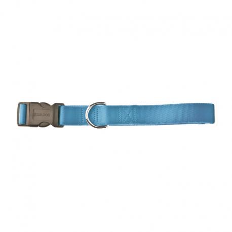 Fuss Dog Collare Regolabile Nylon Azzurro