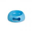 Ciotola Plastica Antiscivolo con Impugnatura Azzurra