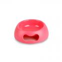 Ciotola Plastica Antiscivolo con Impugnatura Rosa