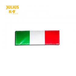 Julius K9 Coppia Etichette Bandiera Italia