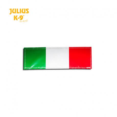 Julius K-9 Coppia Etichette Bandiera Italia