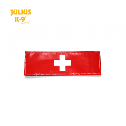 Julius K9 Coppia Etichette Bandiera Svizzera