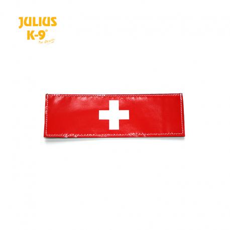 Julius K-9 Coppia Etichette Bandiera Svizzera
