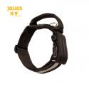 Julius K9 Collare con Maniglia e Fascia Riflettente Nero