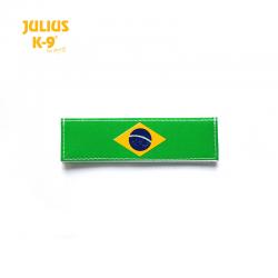 Julius K9 Coppia Etichette Bandiera Brasile