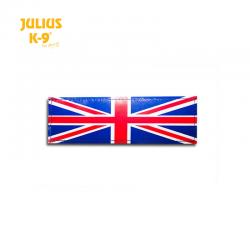 Julius K9 Coppia Etichette Bandiera Uk
