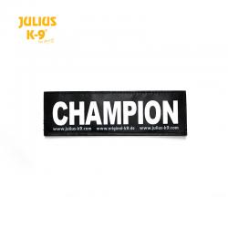 Julius K9 Coppia Etichette Champion