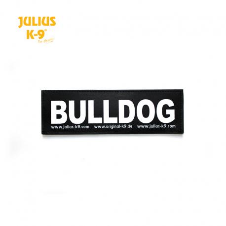 Julius K-9 Coppia Etichette Bulldog