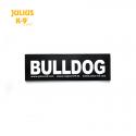 Julius K9 Coppia Etichette Bulldog