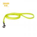Julius K-9 Guinzaglio IDC Lumino con Maniglia Giallo Fosforescente