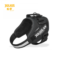 Julius K-9 Pettorina IDC Power Harnesses Nera