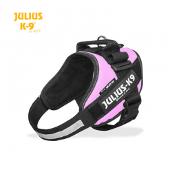 Julius K-9 Pettorina IDC Power Harnesses Rosa