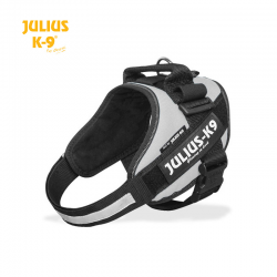 Julius K-9 Pettorina IDC Power Harnesses Argento