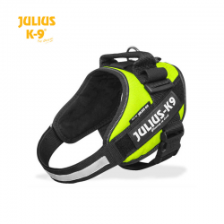 Julius K9 Pettorina IDC Power Harnesses Neon Verde