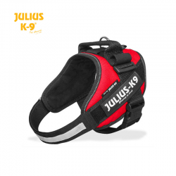 Julius K-9 Pettorina IDC Power Harnesses Rossa
