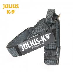 Julius K9 Pettorina IDC Belt Harnesses Nera