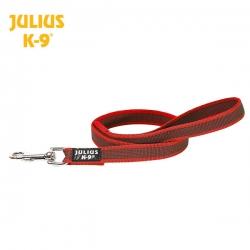 Julius K9 Guinzaglio Super-Grip Rosso