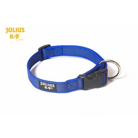 Julius K9 Collare Color & Grey Nylon Blu