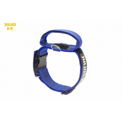 Julius K9 Collare Color & Grey Nylon Blu