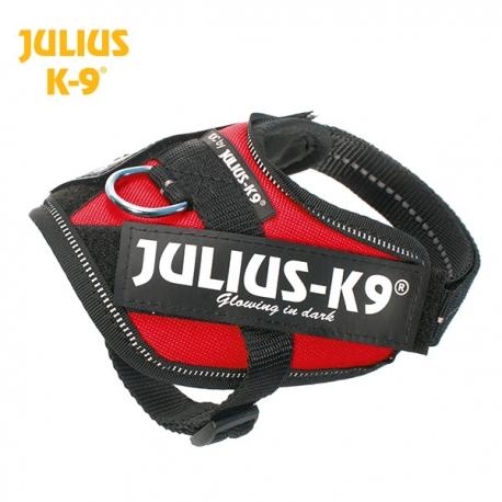 Julius K9 Pettorina IDC Power Harnesses Rossa
