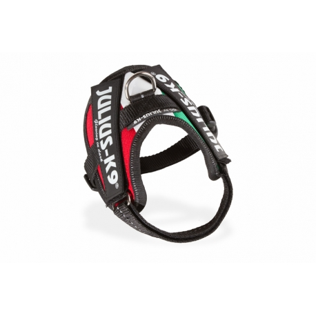 Julius K9 Pettorina IDC Power Harnesses Bandiera Italia