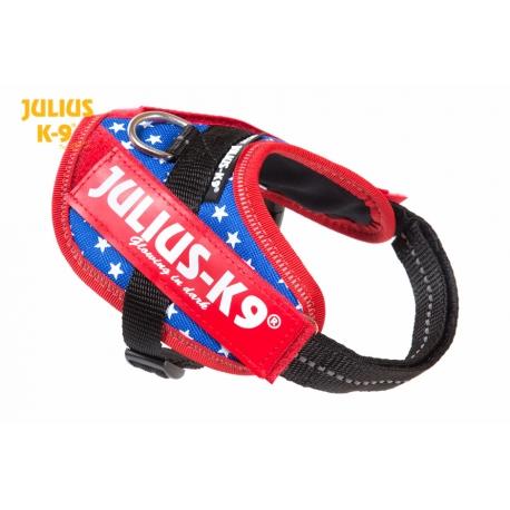Julius K9 Pettorina IDC Power Harnesses Bandiera USA