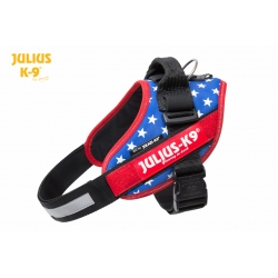 Julius K9 Pettorina IDC Power Harnesses Bandiera USA