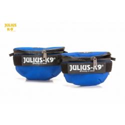 Julius K9 Borse Laterali Mini Universali Blu