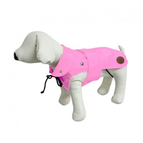 Dog Line Impermeabile London Plus Rosa