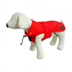 Dog Line Impermeabile London Plus Rosso