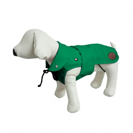 Dog Line Impermeabile London Plus Verde