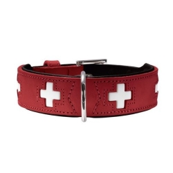Hunter Collare Swiss Rosso