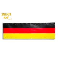 Julius K9 Coppia Etichette Bandiera Germania