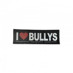 Julius K9 Coppia Etichette I LOVE BULLYS
