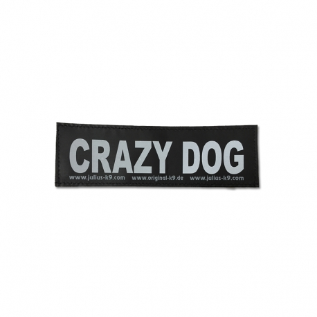Julius K9 Coppia Etichette CRAZY DOG