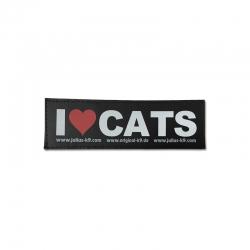 Julius K9 Coppia Etichette I LOVE CATS