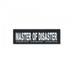 Julius K9 Coppia Etichette MASTER OF DISASTER