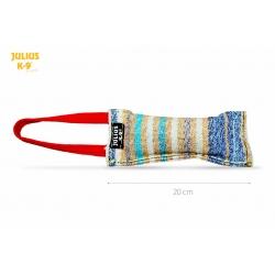 Julius K9 Tug in Nylon e Cotone con Una Maniglia in Nylon e Gomma