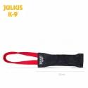 Julius K9 Tug in Pelle con Una Maniglia in Nylon e Gomma