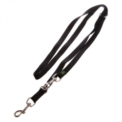 Hunter Guinzaglio Trainig Leash Nylon Nero