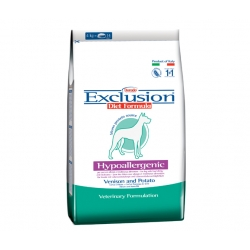 Exclusion Diet Formula Hypoallergenic Smal Breed Cervo e Patate